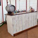 Limewashed Bar