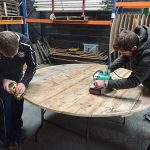 Round Planked Tables